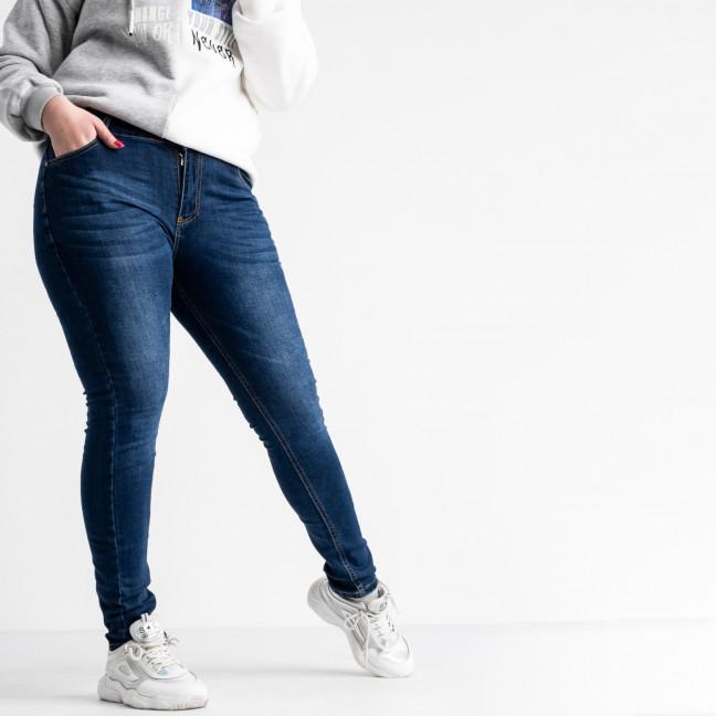 8005 Fashion jeans джинсы батальные женские синие стрейчевые (6 ед. размеры: 31.32.33.34.36.38) Fashion jeans: артикул 1118258