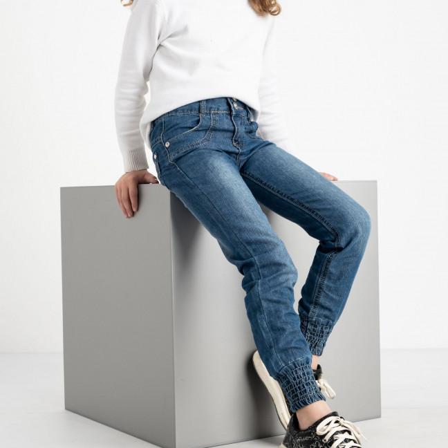 1911 Du Jin джинсы синие на девочку 6-11 лет котоновые(6 ед. размеры: 20.22.24.26.28.30) Du Jin: артикул 1120261