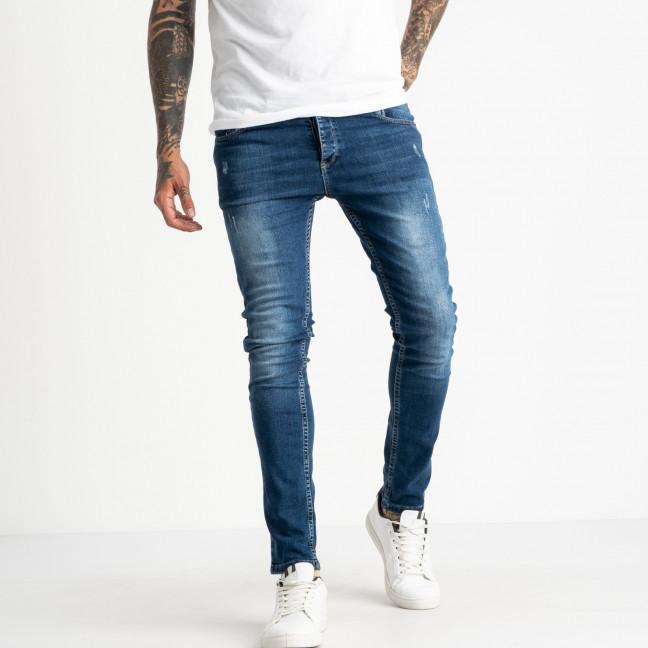 0542 Jack Kevin джинсы синие мужские стрейчевые ( 9 ед. размеры: 30/2.31.32.33/2.34.36.38) Jack Kevin: артикул 1121919