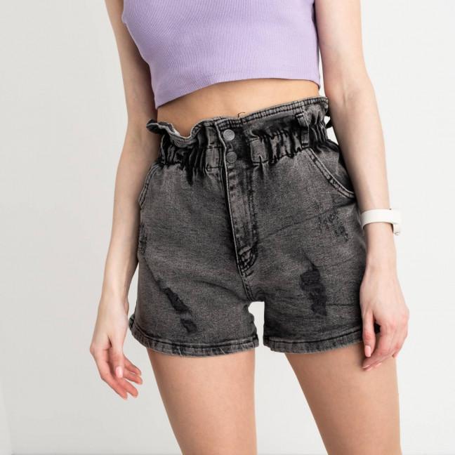 1000 H&B шорты серые женские стрейчевые (6 ед. размеры:26.27.28.29.30.31) H&B: артикул 1122339