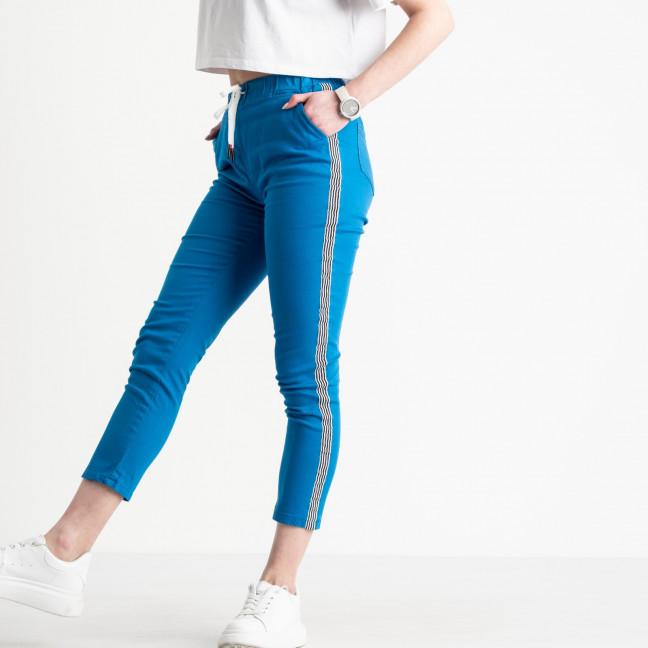 0208-8 Yimeite синие брюки женские стрейчевые (6 ед. размеры: 25.26.27.28.29.30) Yimeite: артикул 1119613