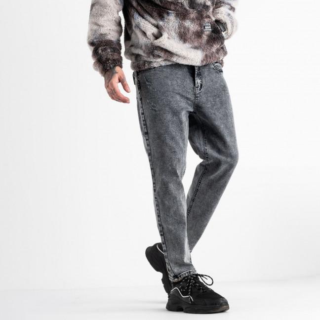0081-8 RC Relucky мом мужской серый стрейчевый (8 ед. размеры:28.29.30.31.32.33.34.36) Relucky: артикул 1118178