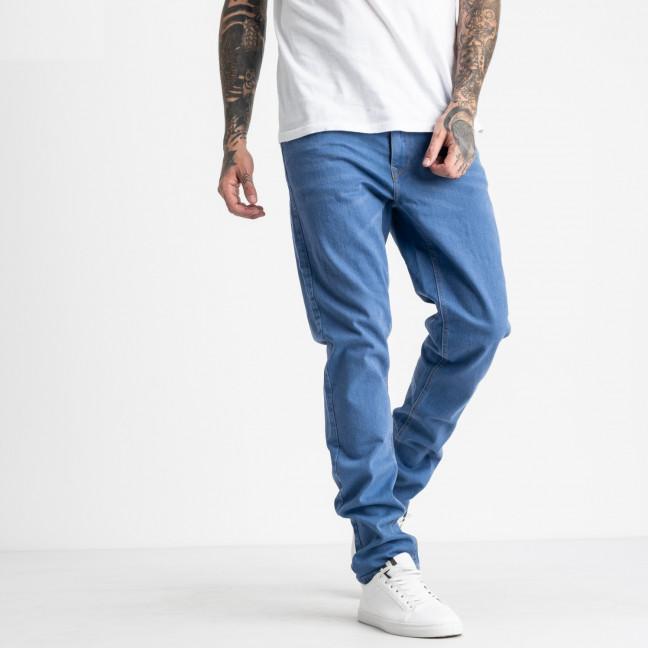 1932-4 Nescoly джинсы полубатальные мужские голубые стрейчевые (7 ед. размеры: 32.34/3.36.38.40) Nescoly: артикул 1120383