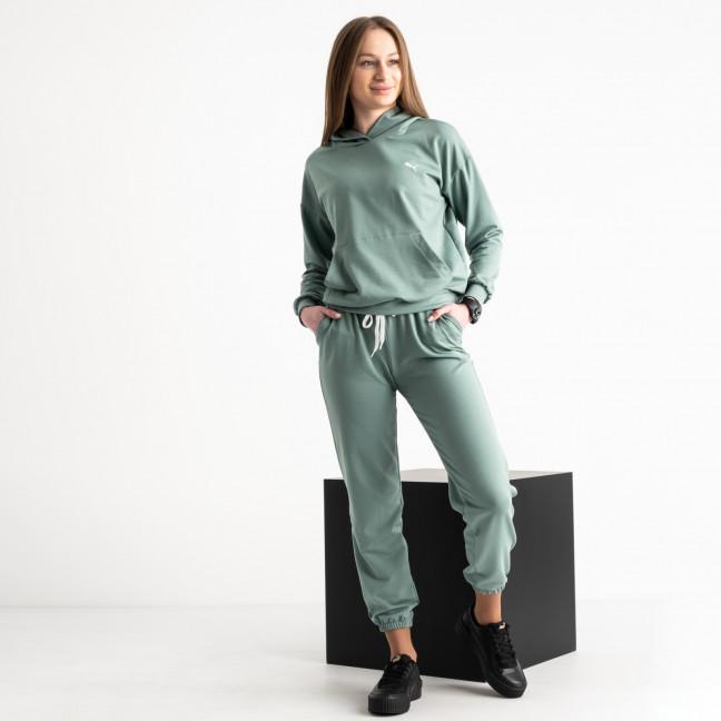 15222-7 полынь женский спортивный костюм из двунитки (4 ед. размеры: S.M.L.XL) Спортивный костюм: артикул 1119261