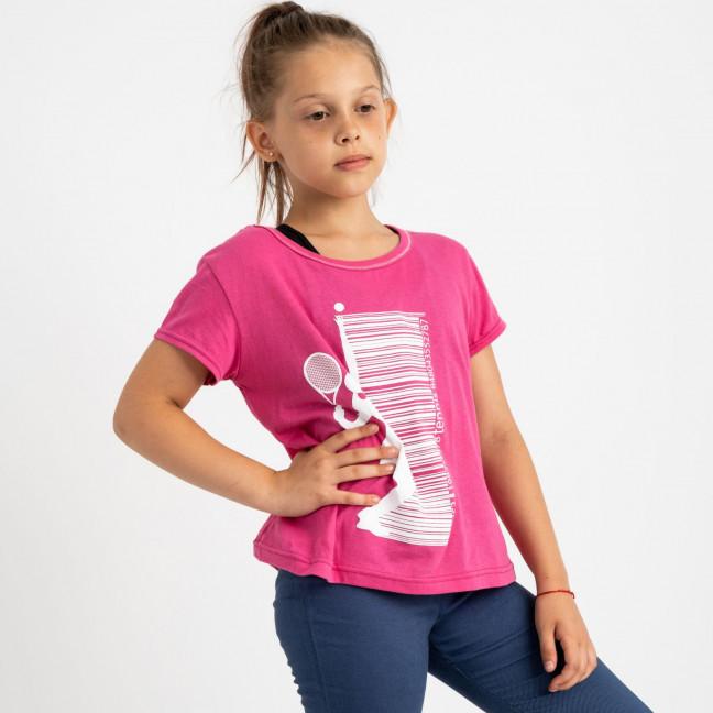 1017 футболка розовая на девочку 9-11 лет (3 ед размеры: 134.140.146) Маленьке сонечко: артикул 1121936