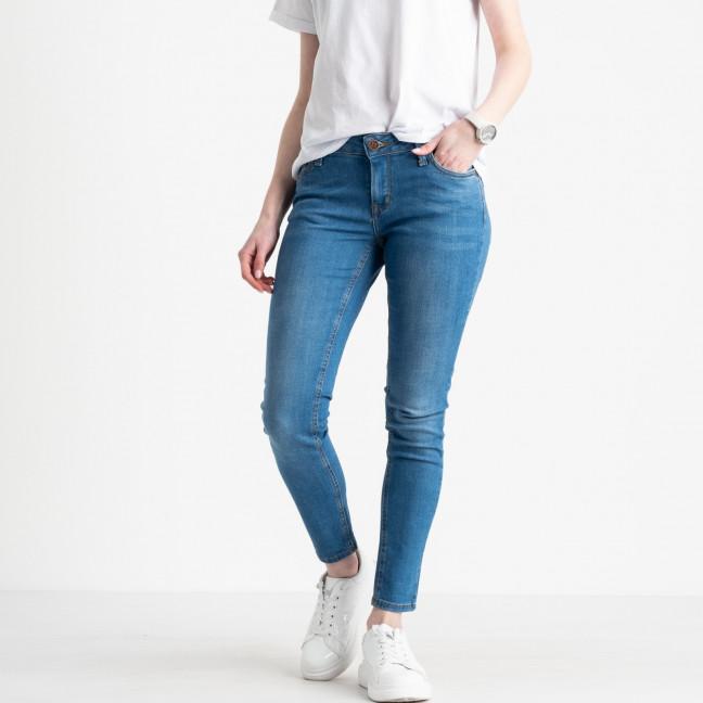 1941-7 Nescoly джинсы женские голубые стрейчевые ( 7 ед. размеры: 24.25.26.27/2.28/2) Nescoly: артикул 1122717
