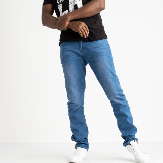 8001 Vouma-up джинсы полубатальные мужские голубые стрейчевые (8 ед. размеры: 32.33.33.34.34.36.36.38) Vouma-Up: артикул 1118876