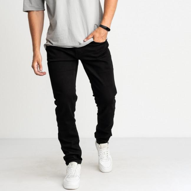 9954 God Baron джинсы черные стрейчевые (8 ед. размеры: 28.29.30.31/2.32.33.34) God Baron: артикул 1123644