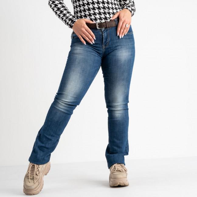 9173-B-535 Colibri джинсы полубатальные синие стрейчевые (6 ед. размеры: 28.29.30.31.32.33) Colibri: артикул 1118530