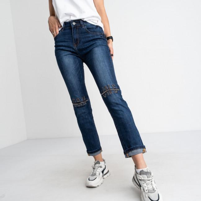 9013 OK&OK джинсы женские синие стрейчевые (6 ед. размеры: 25.26.27.28.29.30) OKOK: артикул 1123460