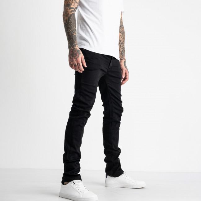 1931-2 Nescoly джинсы мужские черные стрейчевые (8 ед. размеры: 30/2.34.36/2.38/2.40) Nescoly: артикул 1123545