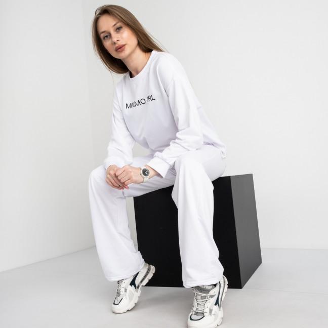 7807-10 M&C спортивный костюм женский белый (3 ед. размеры: универсал S-L ) M&C: артикул 1122655