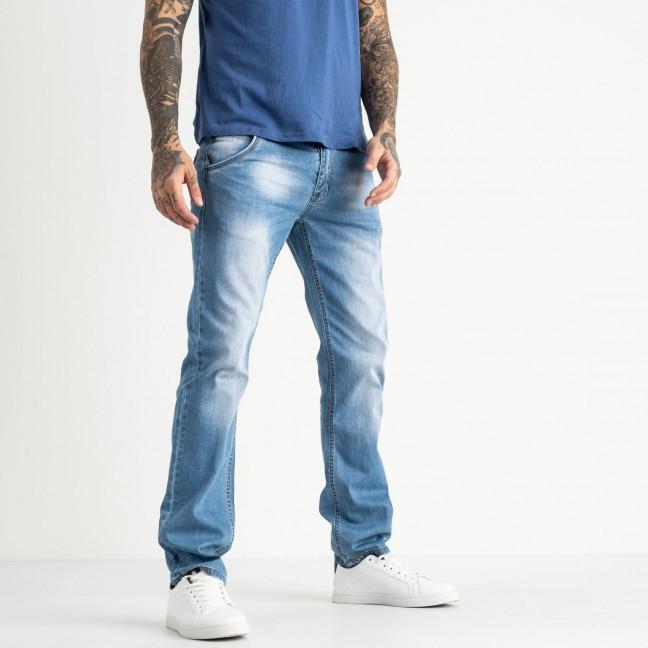 0002-28 LT Likgass джинсы мужские голубые котоновые (7 ед. размеры: 29.30.31.32.33.34.36) Likgass: артикул 1118781