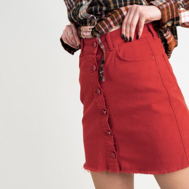 0402 Arox юбка джинсовая красная котоновая (4 ед. размеры: 34.36.38.40) Arox: артикул 1118533