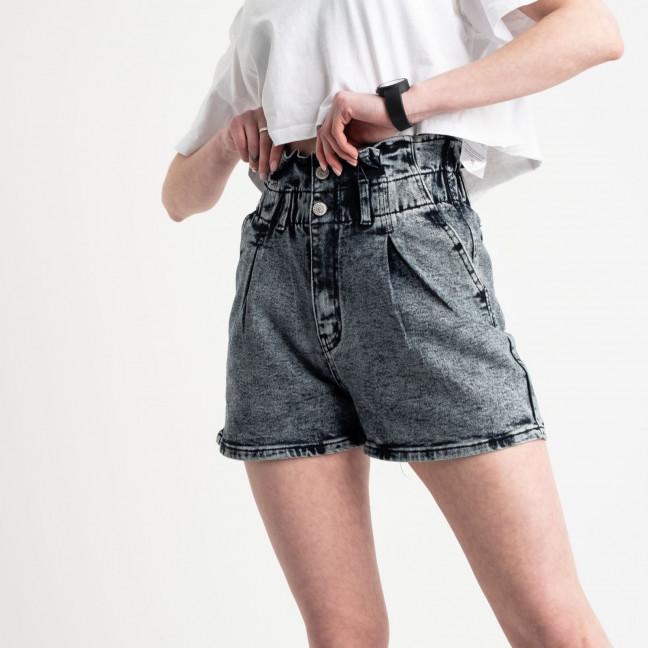 0029-8 T Relucky шорты серые женские стрейчевые (6 ед. размеры: 25.26.27.28.29.30) Relucky: артикул 1120046