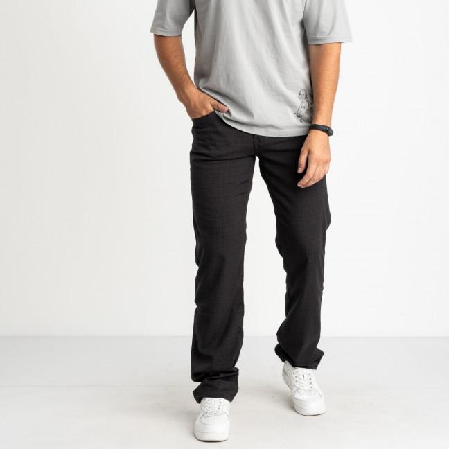 67007  LS темно-серые брюки мужские стрейчевые (8 ед. размеры: 30.31.32.33.34.35.36.38 ) LS: артикул 1108538