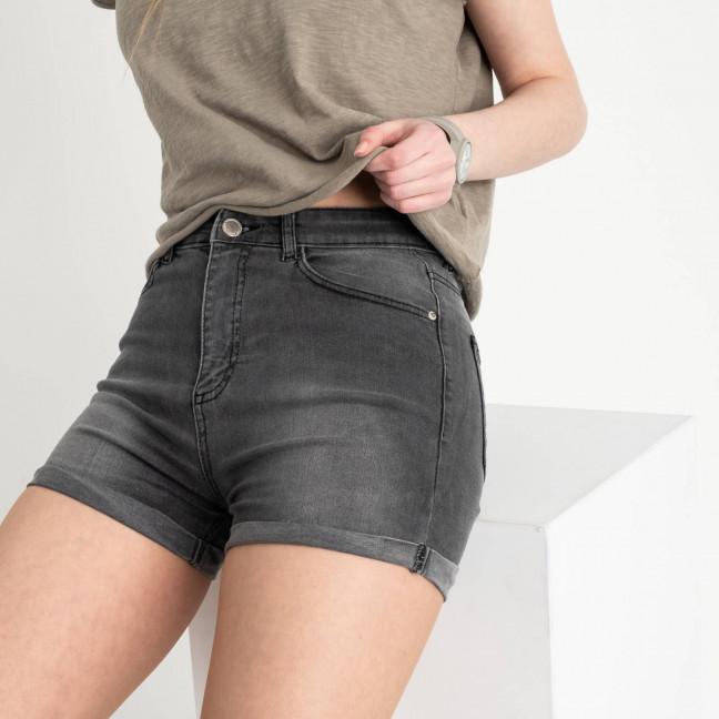 0700-285 Kind Lady шорты серые стрейчевые (6 ед. размеры: 34.36.38.40.42.44) Kind Lady: артикул 1120565