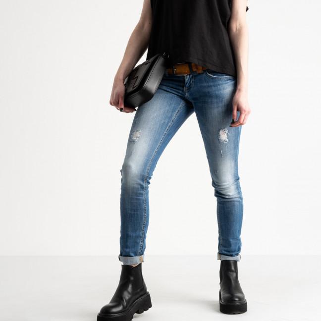 9365-581-01 Colibri джинсы женские голубые стрейчевые (7 ед. размеры: 25.25.26.27.28.29.30) Colibri: артикул 1118813