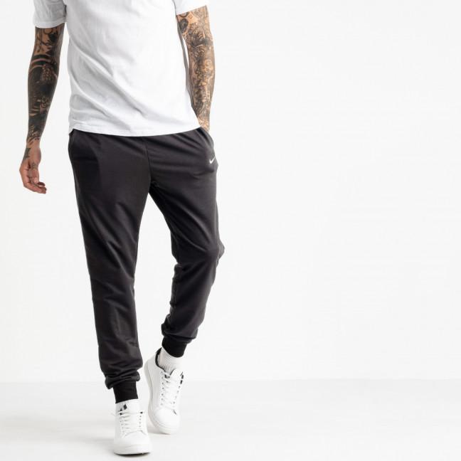 1621-4 Mishely серый мужские спортивные штаны из двунитки (4 ед. размеры: M.L.XL.2XL) Mishely: артикул 1123726