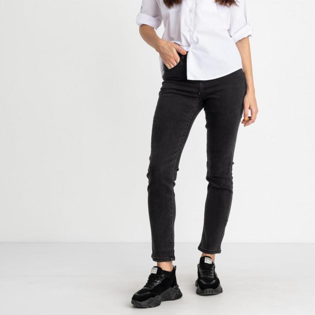 5039 New Jeans джинсы  полубатальные темно-серые стрейчевые (6 ед. размеры: 28.29.30.31.32.33) New Jeans: артикул 1123632