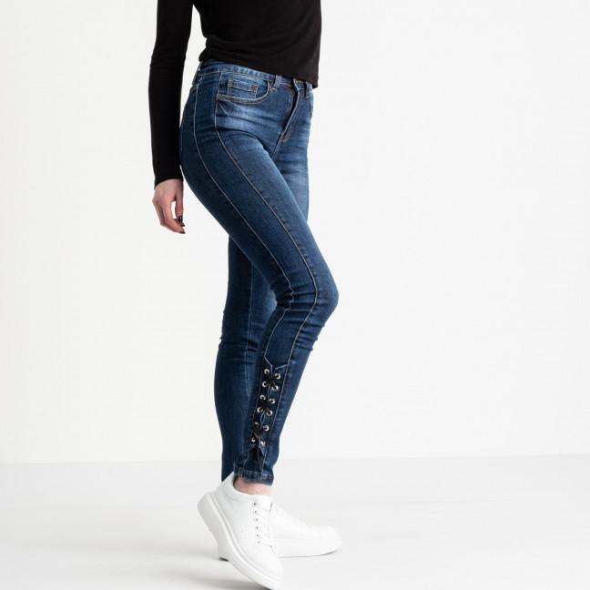 1197 Lady N джинсы женские синие стрейчевые (6 ед. размеры: 25.26.27.28.29.30) Lady N: артикул 1118930