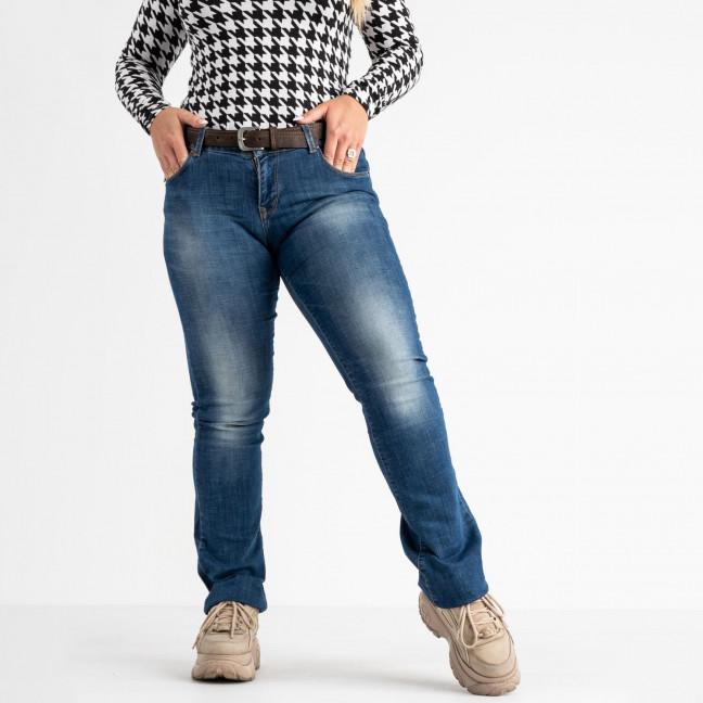 9173-B-5351 Colibri джинсы полубатальные синие стрейчевые (5 ед. размеры: 28.29.30.31.33) Colibri: артикул 1118531