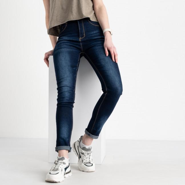 8002 Fashion джинсы женские синие стрейчевые (6 ед. размеры: 25.26.27.28.29.30) Fashion: артикул 1120351