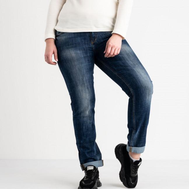 1209-B-4531 A.N.G джинсы полубатальные женские синие стрейчевые (6 ед. размеры: 29.30.30.31.32.33) A.N.G.: артикул 1118598