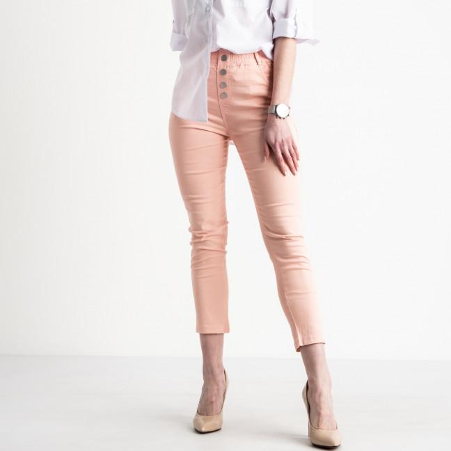 0202-3 Yimeite пудра брюки женские стрейчевые (6 ед. размеры: 25.26.27.28.29.30) Yimeite: артикул 1119618