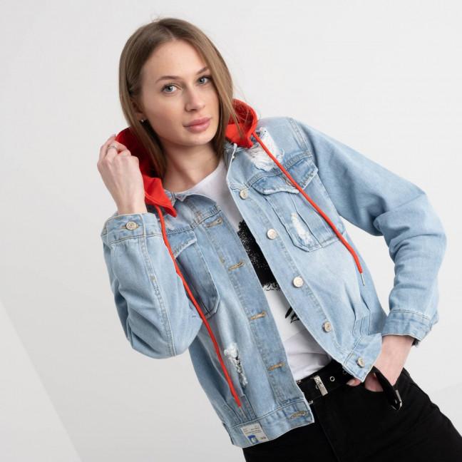 0652 New Jeans  куртка джинсовая женская  (6 ед. размеры: XS.S.M.L.XL.XXL) New Jeans: артикул 1117688