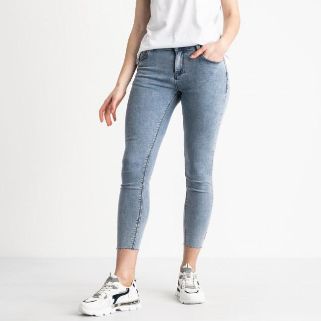1033 Zi Concept джинсы полубатальные женские голубые стрейчевые (6 ед. размеры: 28.28.29.29.30.31) Zi Concept: артикул 1119459