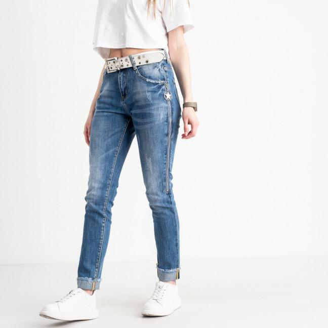 8197 Vanver джинсы женские голубые стрейчевые ( 6 ед. размеры: 25.26.27.28.29.30) Vanver: артикул 1122247