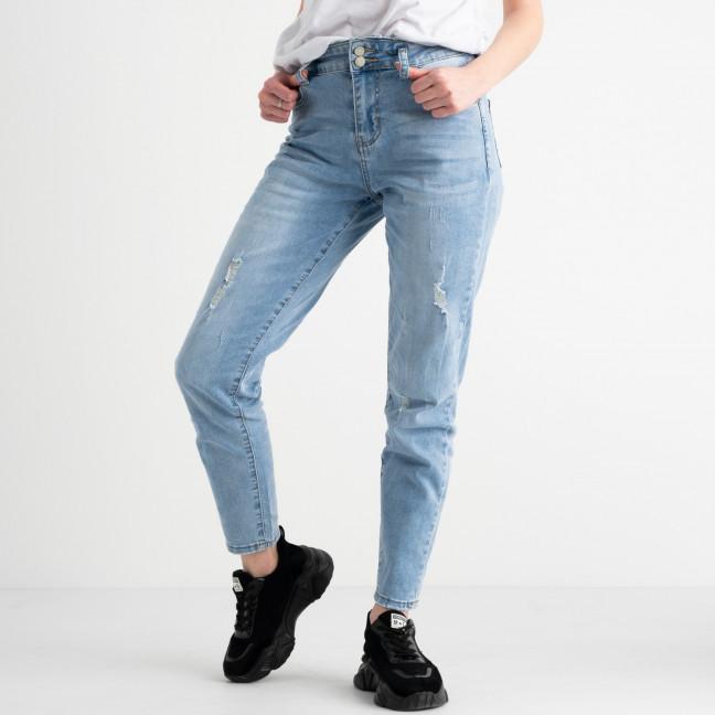 0634 New Jeans джинсы женские голубые стрейчевые (6 ед. размеры: 25.26.27.28.29.30) New Jeans: артикул 1117685