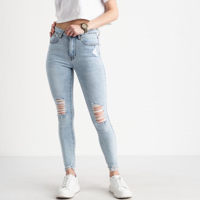 0505-2 Monkey Ride Jeansе американка голубая стрейчевая ( 6 ед. размеры: 25.26.27.28.29.30) Monkey Ride: артикул 1122250