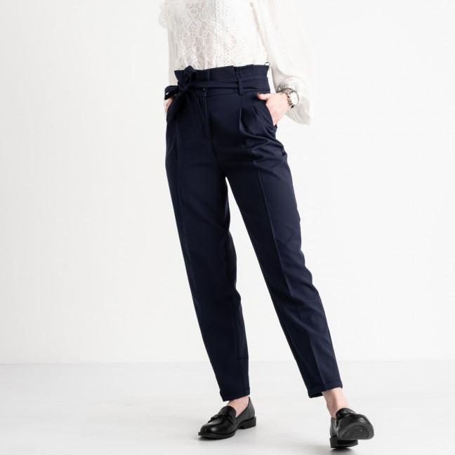 0815-566 Larex брюки женские синие котоновые (2 ед. размеры: 36.38) Larex: артикул 1119017