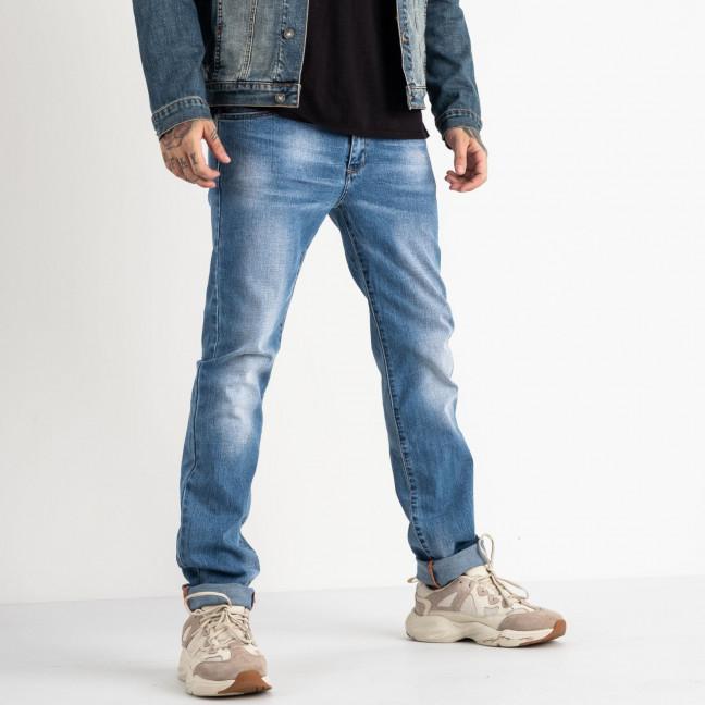 2059 Fang джинсы голубые стрейчевые  (8 ед. размеры: 28.29.30.31.32.33.34.34) Fang: артикул 1118356