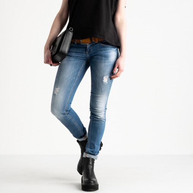 9365-581 Colibri джинсы женские голубые стрейчевые (6 ед. размеры: 25.26.27.28.29.30) Colibri: артикул 1118812