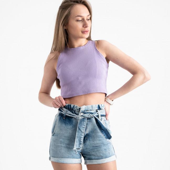0700-283 Kind Lady шорты голубые котоновые (6 ед. размеры: 34.36.38.40.42.44) KindLady: артикул 1121688