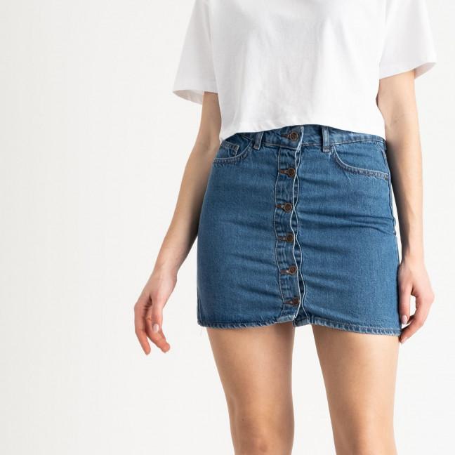 0022-054 Lovest юбка синяя котоновая (6 ед. размеры: 34.36.38.38.40.42) Lovest: артикул 1118848