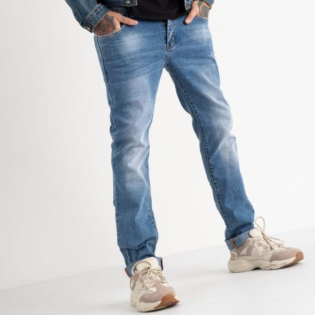 2128 Fang джинсы голубые стрейчевые (8 ед. размеры: 29.30.31.32.33.34.35.36) Fang: артикул 1118353