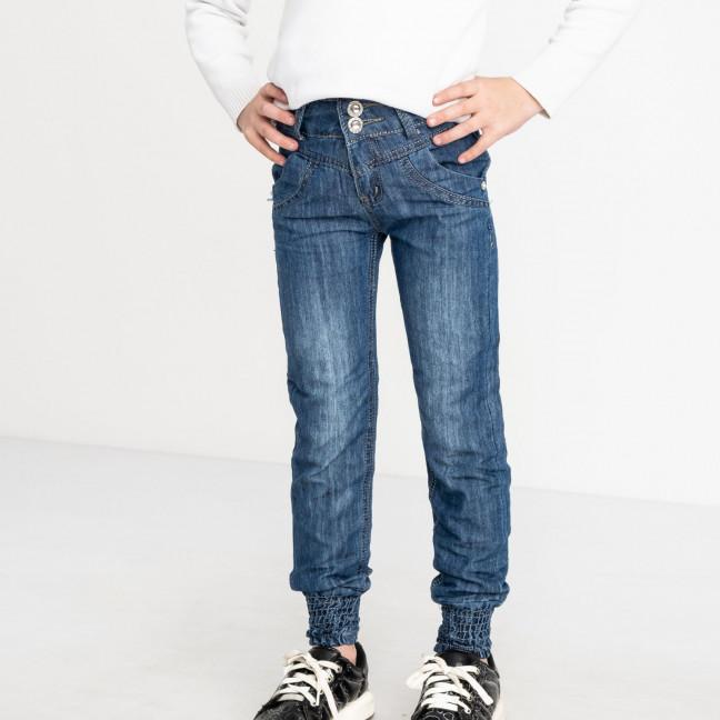 1910 Du Jin джинсы синие на девочку 6-11 лет котоновые(6 ед. размеры: 20.22.24.26.28.30) Du Jin: артикул 1120266