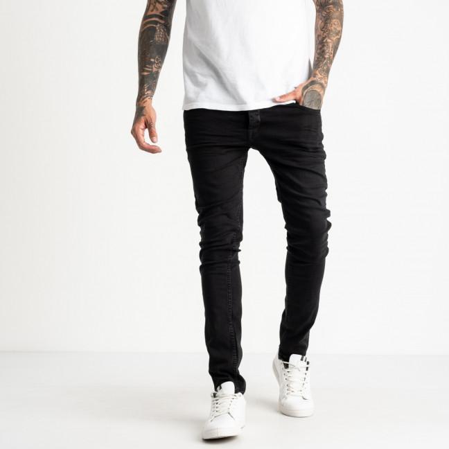 0509 Jack Kevin джинсы черные мужские стрейчевые ( 8 ед. размеры: 31.32/2.33/3.36.38) Jack Kevin: артикул 1121914