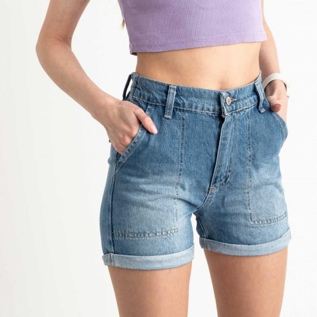 3471 Xray шорты женские голубые котоновые (5 ед. размеры:34.36.38.40.42) XRAY: артикул 1122466