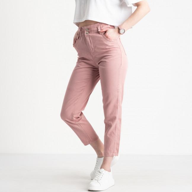 2113 Plus Denim мом женский розовый котоновый (9 ед. размеры: 25.26/3.28/2.30/2.32) Plus Denim: артикул 1119835
