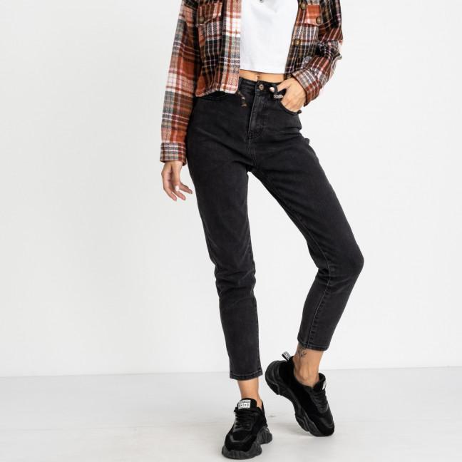 5018 New Jeans мом серый стрейчевый (6 ед. размеры: 25.26.27.28.29.30) New Jeans: артикул 1123628