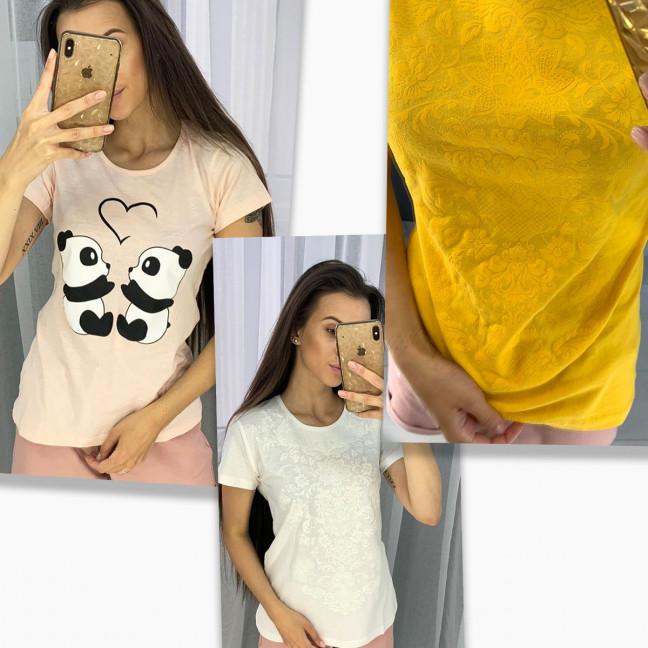 2704-99 футболка женская микс 3-х моделей и цветов без выбора цветов (12 ед. размеры:S.M.L.XL) МИКС: артикул 1122952