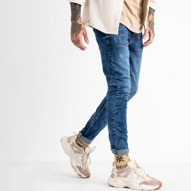 6238 Blue Nil джинсы мужские синие стрейчевые (8 ед. размеры: 29.30.31.32.32.33.34.36) Blue Nil: артикул 1117922
