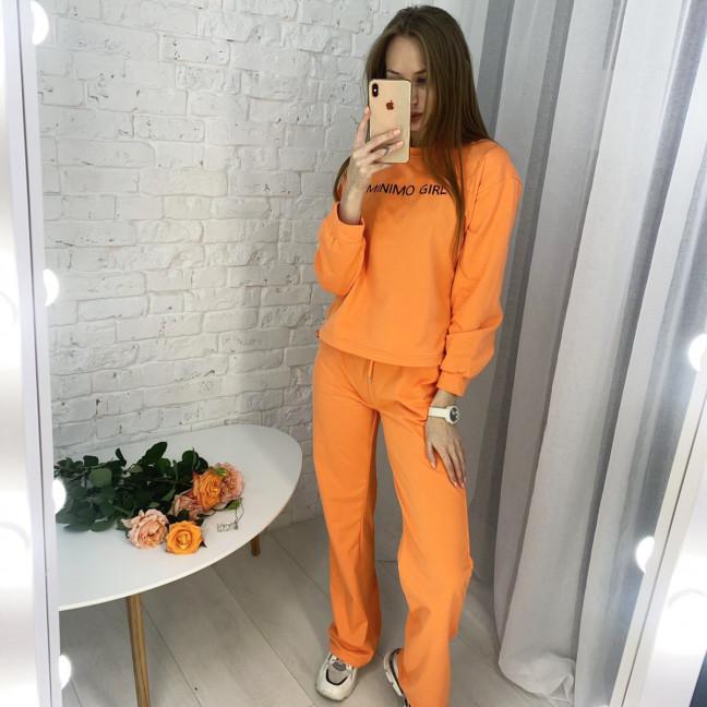 7807-2 M&C спортивный костюм женский оранжевый (3 ед. размеры: универсал S-L ) M&C: артикул 1122649