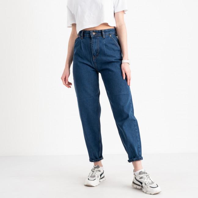 4072 джинсы-балоны синие котоновые (8 ед. размеры: 25.26/2.28/2.30/2.32) Джинсы: артикул 1120827