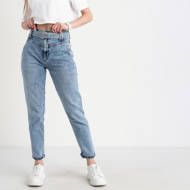 2482-784-1 Angelina Mara джинсы голубые стрейчевые (7 ед. размеры: 25.26/2.27.28.29.30) Angelina Mara: артикул 1122734